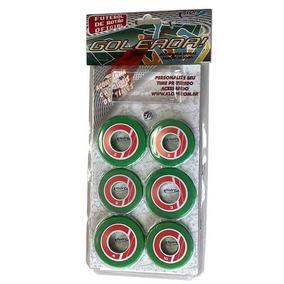Jogo De Futebol De Botão Verde/vermelho 34098 - Klopf