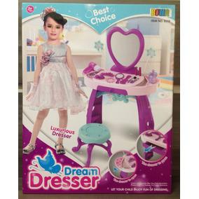 Penteadeira Infantil Princes Dream Dresser +25 Peças