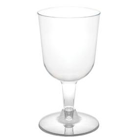 12 Copas Vino Plástico Desechables Bar Buffet Boda Fiesta