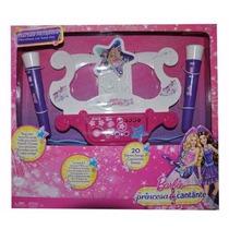 Micrófono Duo Base Barbie La Princesa Y La Cantante !!!!