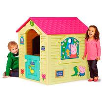 Casita Casa Plastica Peppa Pig Ideal Exterior Babymovil