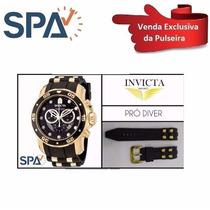 Invicta Prodiver 6983 6981 Pulseira De Borracha Original