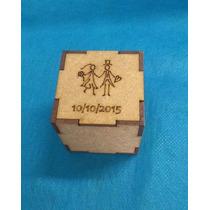 Caixinha Personalizada Mdf Presente Nascimento Casamento