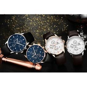 Oferta Reloj Hombre Ailang Con Cronometro Y Correa De Cuero