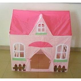 Pink Cottage Princesa Emergente Juego Carpa Castillo