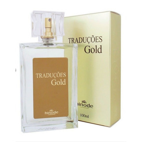 Kit 03 Perfumes Hinode Traduções Gold - Varias Fragrancias