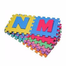 Puzzle Goma Eva 26 Piezas Con Variedad De Colores
