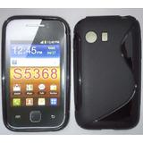 Capa Tpu Samsung Galaxy Y Tv S5367 S5368 Pelicula + F Gratis