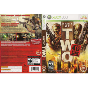 Army Of Two 40th Day (console Destravado Lt 3.0)
