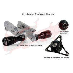 Kit Slider Procton Racing Yamaha Xj6 N F - 3 Peças