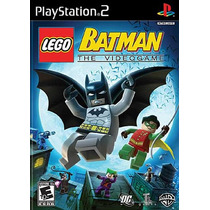 Lego Batman The Videogame - Patchs Jogos De Ps2