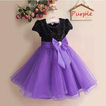 Vestido Infantil Festa Luxo Criança Princesa Pronta Entrega