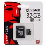 Memoria Micro Sdhc Kingston 32gb Clase 10 - San Isidro