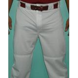 Pantalon De Beisbol En Color Gris,blanco, Azul Rey, Vino T