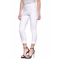 Las Oreiro Pantalon De Vestir Nikolaos Blanco Nvo Orig Mujer