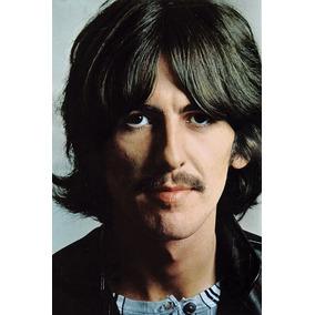 Beatles - George Harrison - Pôster Em Lona - 60x40cm