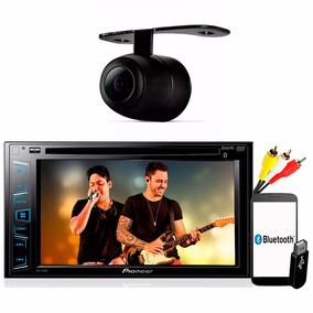Dvd Player Pioneer Avh 298bt Usb 2din Multimidia + Camera Re