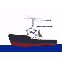 Repetidor Sinal Celular Profissional Aquário P/ Embarcações