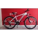 Bicicleta Mountain Bike Venzo Yeti 21 Vel Freno V-brake