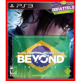 Beyond Two Souls Jogos Ps3 Psn Dublado Portugues Br