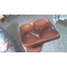 Bandeja Petisqueira Em Madeira 30x30 Cm 30% Off
