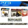 Resistance Collection Ps3 Fisico X 3 Cd Original Sellado
