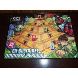 Juego De Mesa Ben 10 En Busca Del Omnitrix Perdido Completo!