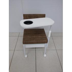 Mesa Manicure Cirandinha Com 1 Gaveta Salão De Beleza