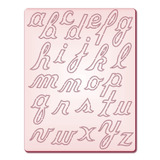 Gabarito P/corte Alfabeto Minusculo 1 Di068 Tec