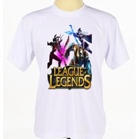Camiseta Camisa Estampada Jogo Eletrônico League Of Legends