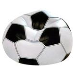 Sillon Inflable Fiaca Puff Pelota Futbol Intex (68557)