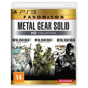 Metal Gear Solid Hd Ps3 Collection Midia Fisica