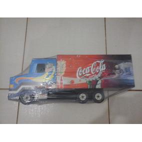 Caminhão Scania De Madeira Coca Cola Grande