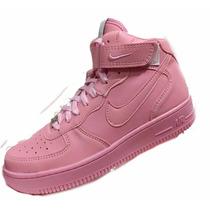 Nike Air Force 1 Zapatillas Botitas Mujer En Caja Oferta!