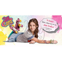 Invitaciones Tarjetas Original Cumpleaños Soy Luna