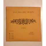 Set De Cuerdas Violoncello 4/4 De Estudio