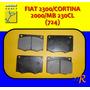 724 Pastillas Frenos Fiat 2300/cortina 2000/mb 230cl