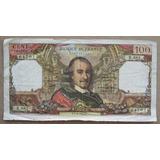 Billete Francia De 100 Francos De 1976