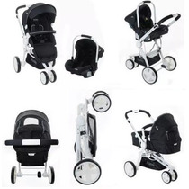 Coche Kiddy Compass Plus White Edition Nuevo !