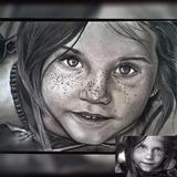 Desenho Realista Grafite- Envie Sua Foto!