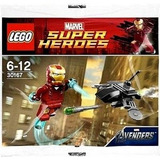 Lego Super Heroes Marvel Iron Man Vs Lucha Drone Polybag # 3