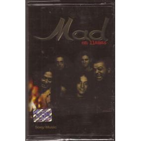 Mad En Llamas Cassette Nuevo Hard Rock Rock Estilo Ac/dc