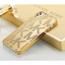 Funda M Kors Iphone 6 6s Y Plus Mk Michael Carcasa Dorada