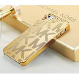 Funda M Kors Iphone 6 6s Y Plus Mk Michael Carcasa Dorada