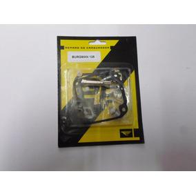 Reparo Carburador Burgman 125 Até 2010 Completo Kit 15 Peças