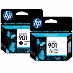 Kit Cartucho Hp 901 Preto Pt + Color Cl Original Lacrados
