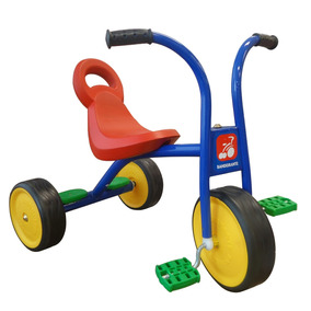 Totoka Infantil Triciclo Escolar Ferro Pega Carona