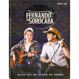 Dvd + Cd Fernando & Sorocaba - Acústico Na Ópera De Arame