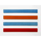 Listel Vidrio 3x30cm Guarda. Baños /cocinas - Forma Y Diseño