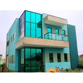 Pelicula Controle Solar Insulfilm Espelhado Verde 0,75x7,5m